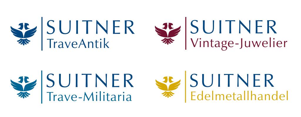Screenshot Logo Design für die Firma Suitner